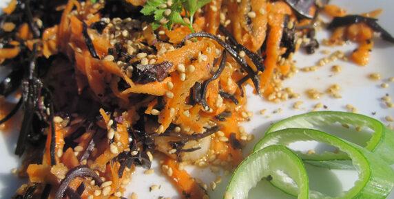 Seaweed & Yam Salad